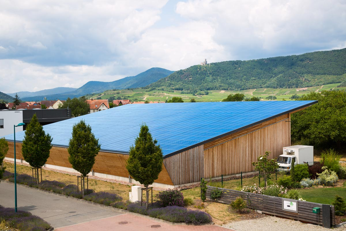 Toiture agriculture photovoltaique