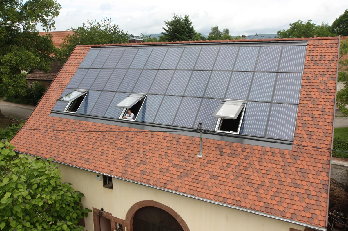 Toitures particulier photovoltaique