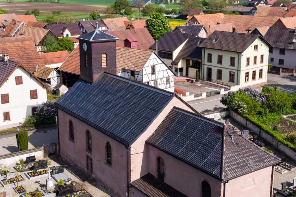 Toiture collectivité photovoltaique