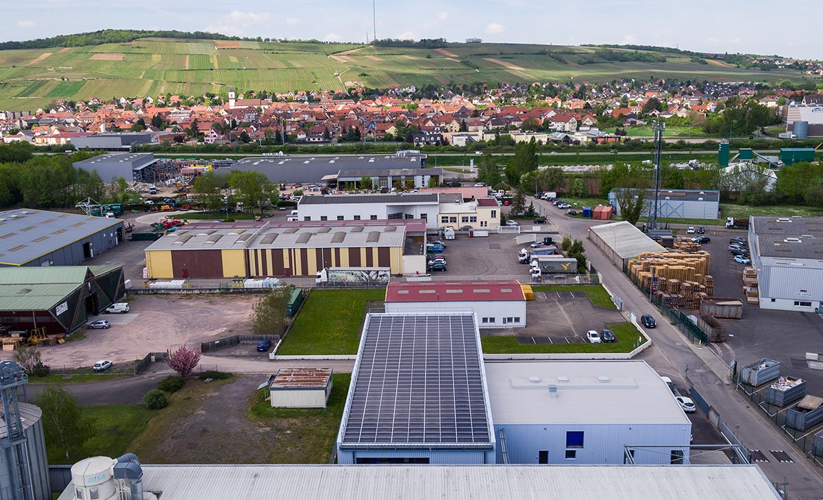 industrie toiture photovoltaique